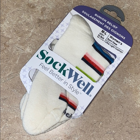 Sockwell Womens Sport Ease Bunion Relief Socks